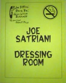 Joe Satriani Tour Detroit