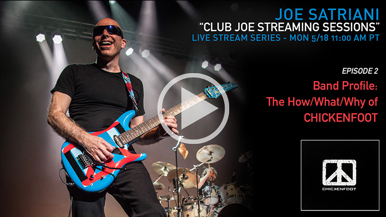 Club Joe Streaming Sessions Episode 2: Band Profile: The How/What/Why of Chickenfoot