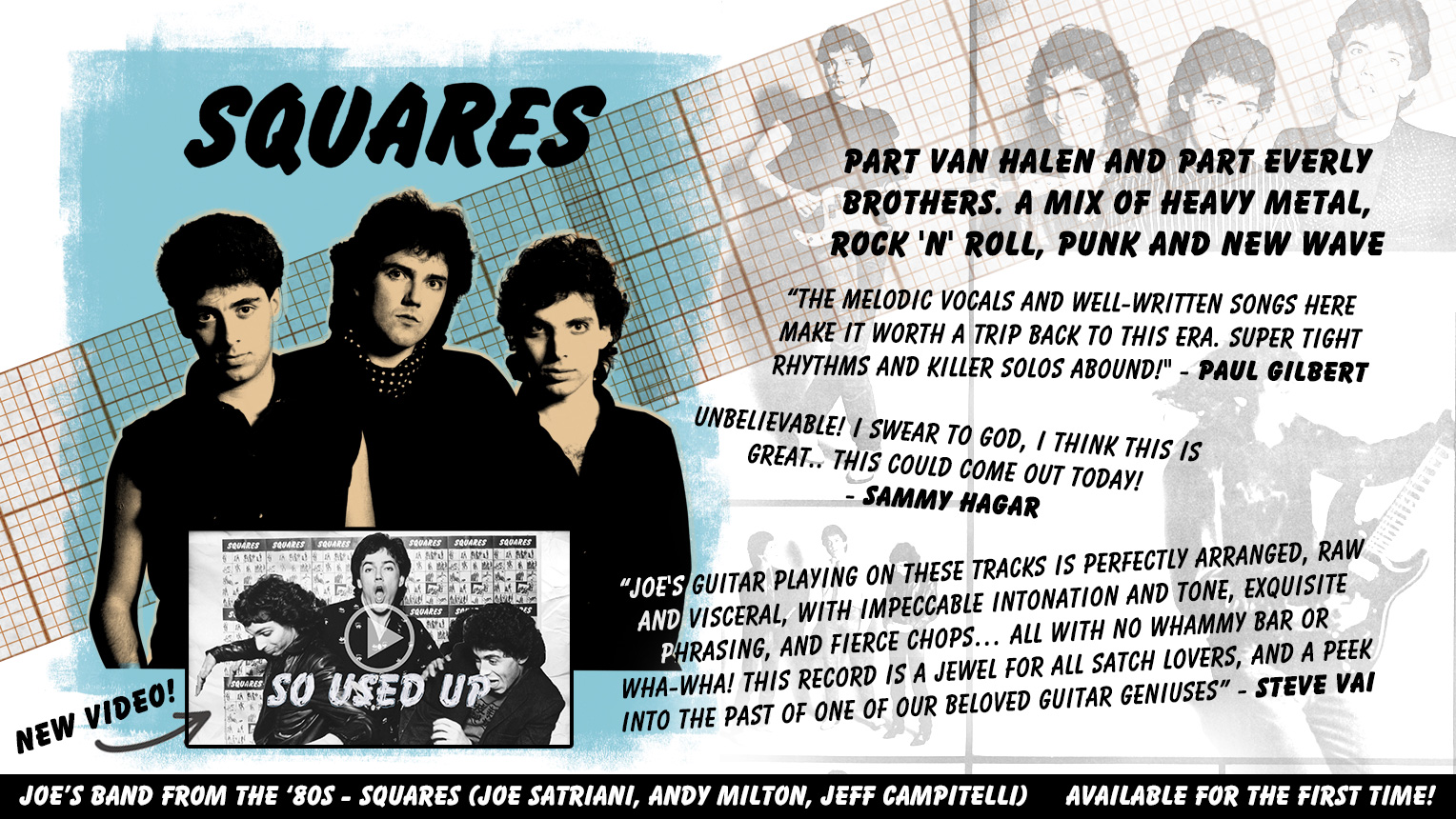 Joe's Band From the '80s: SQUARES