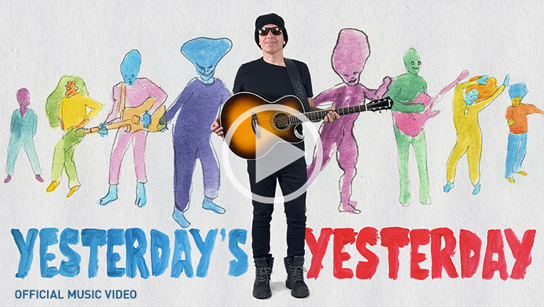 Yesterday's Yesterday Official Music Video