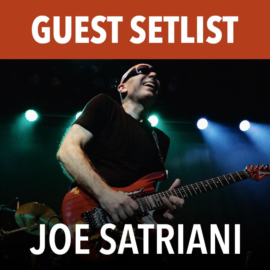 Joe Satriani News